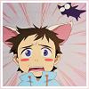 bitter: (flcl; kitten shock!)