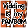 thedivinegoat: Photo: Film strips - Text: Vidding i my fandom. (Vidding is My Fandom)