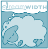 jerico_cacaw: A cartoonish dreamsheep light-colored in blue (pastel)