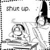 daisyface: (Hikago - Hikaru/Sai - shut up)