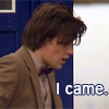 "kenna: (Dr Who// Eleven ""I came"")"
