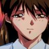 slapping: Keiko looking crest fallen (Saddness)
