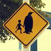 unnique: (penguin handholding)