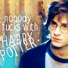 heathershaped: (HP: Harry: nobody fucks with)