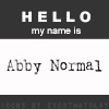psychick: (Abby Normal)