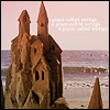 watersword: A sandcastle at sunset (Stock: summer)