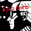 spoleto_usa: A crop of the 2009 spoleto poster by Alex Katz. A b&w profile of a man in mod glasses.  (Default)