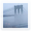 watersword: The Brooklyn Bridge in mist. (Stock: Brooklyn Bridge)