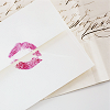 watersword: An envelope with a lipstick kiss on it. (Stock: 14 Valentines)