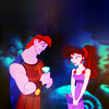 colorcoded: Hercules & Megara (hercules)