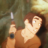 colorcoded: Jim Hawkins holding a gun (treasure planet)