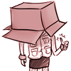 foolishwren: warning: contains graphic silliness (CUBE HEAD REPORTING FOR DUTY)