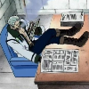 justicereigns: (Desk)