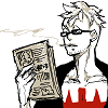 fierybluebird: (glasses mean I'm busy, reading the paper)