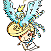 fierybluebird: (Flomp!, phoenix on your head, Ohhh Thatch hair! *_*, Pounce!)