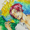 fierybluebird: (let sleeping phoenixes lie, Shanks phoenix sparkles)