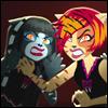 angelwolf: (mh toralei & purrsephone threatening - b)