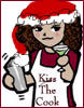 jlh: Chibi of me in a santa hat (Clio Santa!)