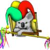 paidiraiompair: (koala jester)