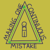 diddgery: (one continuous mistake)