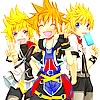 seasaltkeys: (With Ven and Sora)