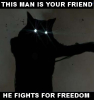 helen99: This Man is your Friend -- He Fights for Freedom (Freedom)