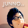nantokaa: junno is 愛 (hhe o1)