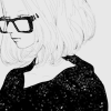 greasyotaku: (❀ art! glasses)