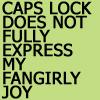 phillycat: (capslock fangirl)
