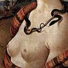 cat_lick_girl: snake necklace (Cleopatra and snake)
