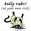 lapislaz: (belly rubs)