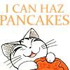 wapiko: cute Chi eating Youhei's pancakes (Chi - I CAN HAZ PANCAKES)