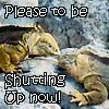 "zenlizard: One lizard to another:  ""Please to be shutting up now!"" (Default)"