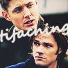 tifaching: (Dean over Sam icon)