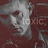 tifaching: (toxic demon dean)