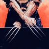 roximonoxide: logan crossed claws (snikt)