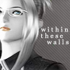 shanaqui: Quistis from Final Fantasy VIII. Text: within these walls. ((Quistis) Trapped)