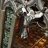 renaissancerevenge: Ezio hanging around on a building. You know, the norm. (Stop monkeying around)