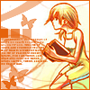 shanaqui: Namine frm Kingdom Hearts II. ((Namine) Butterfly)