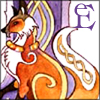 ephemera: celtic knotwork style sitting fox (Default)