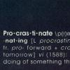 nomad: (Procrastinate)