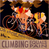 pts: (Bike: Climbing equals pain)
