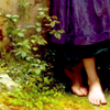 piwakawaka: (on the ground lightly)