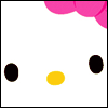 oatmeal_queen: (hello kitty face)