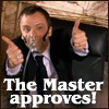 last_raindrop: the master approves (the master aproves)