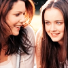 svgurl: (gilmore girls: rory & lorelai happy)