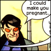 cogs: (i could make you pregnant)