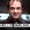 ohmistercrowley: Unknown! Tell me so I can credit! (Hello Darling) (Default)