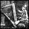 ostro_goth: (z Canon - brooding over harp)