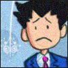 second: Phoenix Wright with a sad face (Phoenix Wright - Phoenix - Sad)